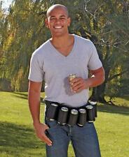 Six Pack Drink Holster - Can Holder - Can Belt - Beer Belt - Beer Holder