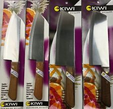 4PC Kiwi Brand Stainless Steel Chef's Kitchen Cook Knife Cleaver Knife No.21,173