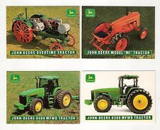 "1995 John Deere Model ""MI"",8400 MFWD tractor, 4 collector/trading cards, #D9- 12"