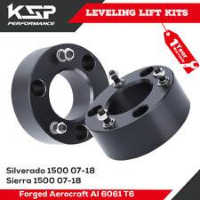 "KSP 3"" Front Lift Kit Spacer Leveling Spring Silverado Sierra 1500 07-18 Chevy"