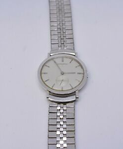 14k Longines Large Round Swiss Mens Mechanical Watch #2287