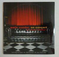 """PARIS COMBO : EN CONCERT """"LES PORTES DE L'ENNUI"""" ♦ CD Single NEUF / NEW ♦"""