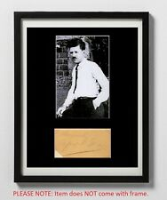 Alfred E. Green Matted Autograph & Photo! Director! Baby Face! Smart Money!