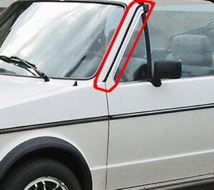 VW Golf 1 Cabrio Verkleidung A-Säule Zierleiste schwarz Zierleisten links rechts