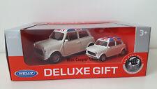 2 x Mini Cooper 1300 WELLY NEX Modellauto in 2 Größen model car Neu & OVP