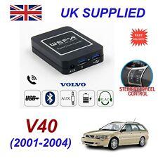 For Volvo V40 Music Streaming Bluetooth Telephone SD AUX CD Digital Module HU