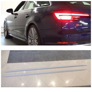 Seitenschweller für Audi A4 B9 Leisten Seitenleisten Schweller side kits S Line