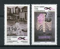 Turkish Nortern Cyprus 2018 MNH Surcharged Overprint OVPT 2v Set Stamps