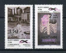 Turkish Nortern Cyprus 2018 MNH Surcharged Overprint OVPT 2v Set Stamps