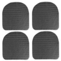 4x Antirutsch Unterlage für Sitzkissen Antirutschmatte Sitzauflagen Stuhlkissen