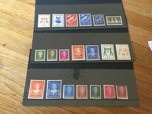 Suriname mint hinged stamp assortment all early very high cat value