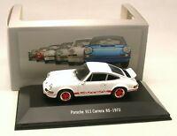 Porsche 911 Carrera RS 1973 - Atlas Collection Porsche -  Echelle 1/43