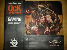 Steelseries QcK Diablo III Barbarian Gaming Mousepad |BRAND NEW Limited Edition
