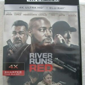 RIVER RUNS RED 4K ULTRA HD & BLU-RAY 2 DISC FREE SHIPPING
