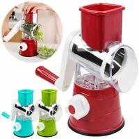 Multi-function Vegetables Fruit Cutter Manual Drum Slicer Shredders Grinder SK