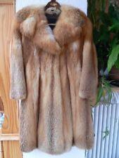 Damen Fuchspelz Fuchsfell Jacke Mantel Rotfuchs Größe 38 40