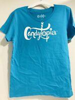 Candytopia Aqua Girl Teeanger Size Medium