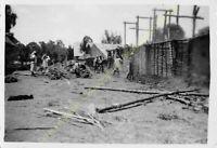 Original Photo MADAGASCAR 1948 militaires n72