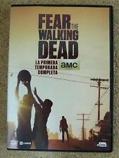 DVD Fear the Walking Dead,Primera Temporada,Serie TV