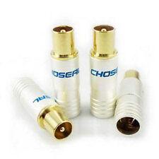 2 pair Choseal Q-921 Audio Speaker Banana Plug Connector 24K HIFI #M2929 QL