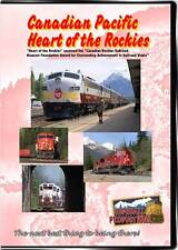 Canadian Pacific Heart of the Rockies DVD NEW Highball CP Spiral Tunnels BC AB