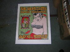 90's ALAN FORBES POSTER SIGNED HEADCOATS