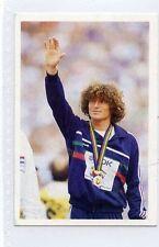 (Jh285-100) RARE,Trade Card Booster of Kristo Markov, Athlete  1986 MINT