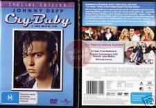 CRY BABY Johnny Depp Iggy Pop Traci Lords NEW SEAL DVD (Region 4 Australia)