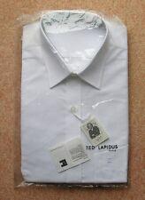 TED LAPIDUS PARIS MEN'S SHORT SLEEVES SHIRT SIZE 39 / 15.5 COLOUR WHITE