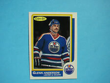 1986/87 O-PEE-CHEE NHL HOCKEY CARD #80 GLENN ANDERSON NM SHARP!! 86/87 OPC