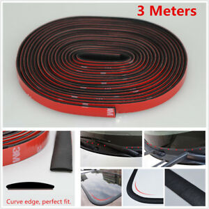 "118"" Car Sunroof Triangular Window Sealing Strips Edge Moulding Trim Soundproof"