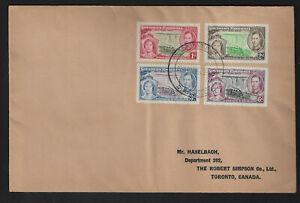 1937 Southern Rhodesia KG6 Coronation Cover