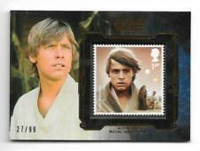 Luke Skywalker Star Wars Sci-Fi Collectable Trading Cards