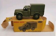 Vintage Dinky Toys 641 - Mint Army 1 Ton Military Cargo Truck in Original Box