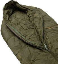 BRITISH ARMY ARCTIC SLEEPING BAG- USED - ONE SIZE - COLD WEATHER - GENUINE !!
