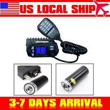 NEW! QYT KT-8900D Dual Band Quad 200ch VHF UHF Ham Mobile Radio+HH-N2RS Antenna