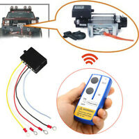 12V Winch Wireless Remote Control Switch Handset Kit Fit Tool For ATV SUV UTV