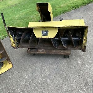 John Deere 400 Garden Tractor, 50 Snowblower