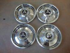 """1967 67 1968 68 Dodge Dart Hubcap Rim Wheel Cover Hub Cap 13"""" OEM USED 312 SET 4"""