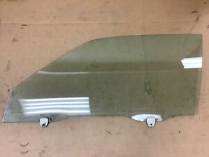 88-91 Prelude 2Dr Coupe Left Front Door Glass Driver Side Window Green OEM