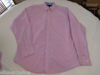 Tommy Hilfiger dress shirt long sleeve 7847814 Pirate Purple 538 solid S Mens