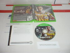 NBA LIVE 14 game in case for Microsoft XBOX ONE system