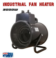 Electric Industrial Fan Heater 3000W Portable Workshop Floor Dryer Air Blower AU