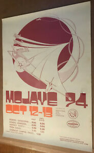 1974 Mojave Air Race Poster