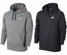 Men's New Nike Fleece Zip Hoodie Hoody Hooded Sweatshirt Jumper Pullover Jacket