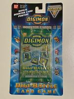 Digimon Digi-Battle Booster Pack Series 1 Trading Cards Game Sealed New Bandai