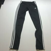 Adidas Black White Three Stripes Skinny Athletic Pants Size XS A1365