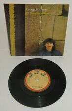 "GEORGE HARRISON ALL THOSE YEARS AGO 1981 DARK HORSE 7"" UK PRESS P/S"