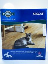 PetSafe Ssscat Spray Deterrent Motion Activated Pet Proofing Dogs Cats - New