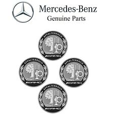 For Mercedes Benz Affalterbach AMG Heritage Wheel Center Hub Caps Genuine